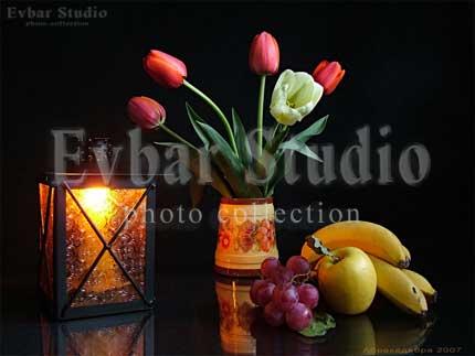 Натюрморт с лампой, фото обои фон заставка картинка тема рабочего стола