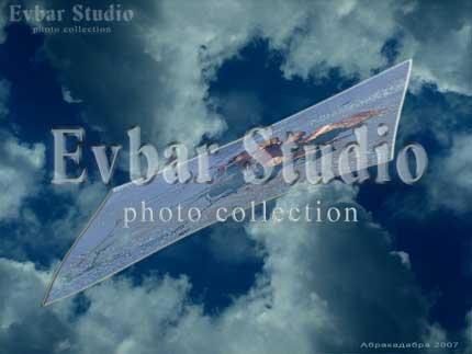 Картина в облаках, фото обои фон заставка картинка тема рабочего стола
