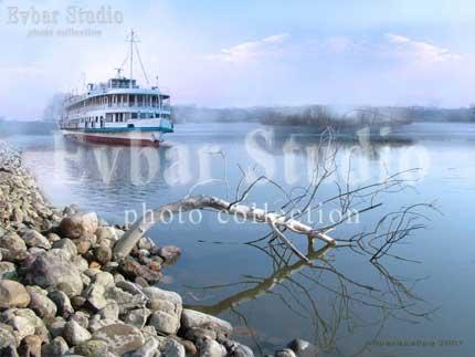 Корабль и коряга, фото обои фон заставка картинка тема рабочего стола