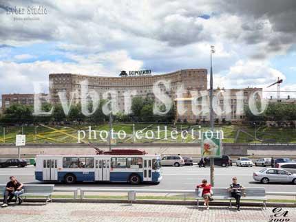 Дом Бородино на набережной, фото обои фон заставка картинка тема рабочего стола