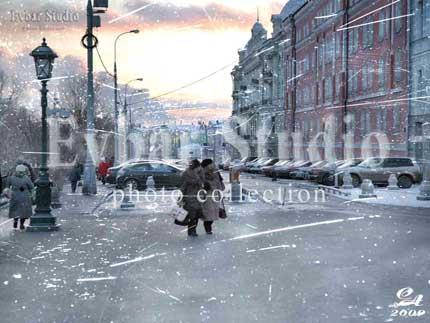Манежная улица, фото обои фон заставка картинка тема рабочего стола