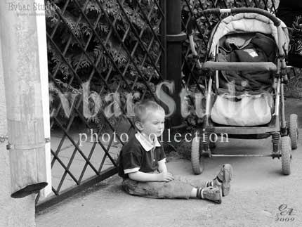 Детская задумчивость