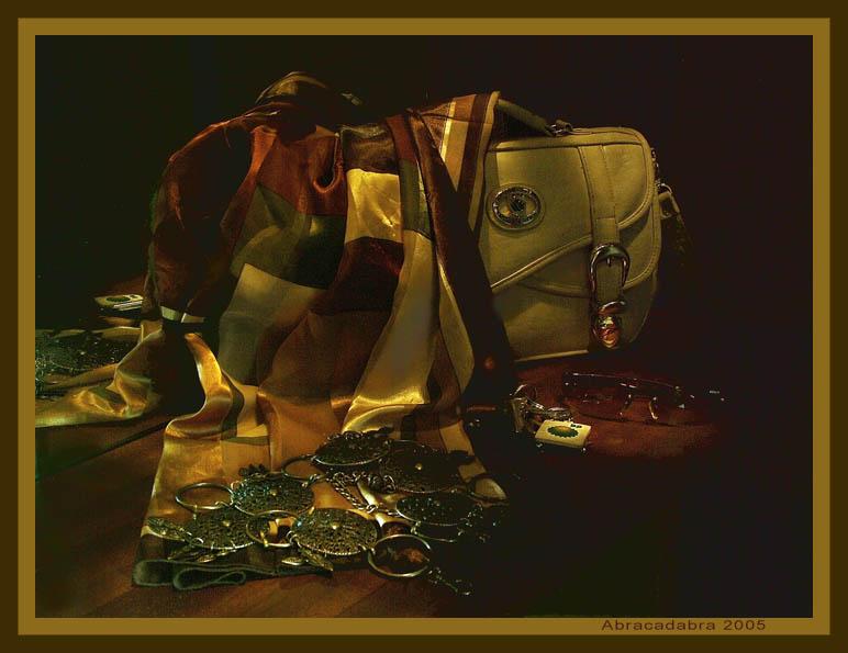 Натюрморт с сумкой